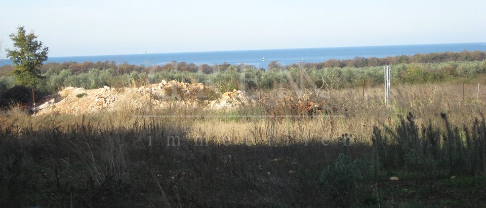 Building plot Poreč sea view