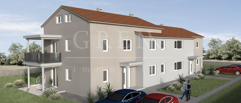 Ground floor apartment 5 km from Porec