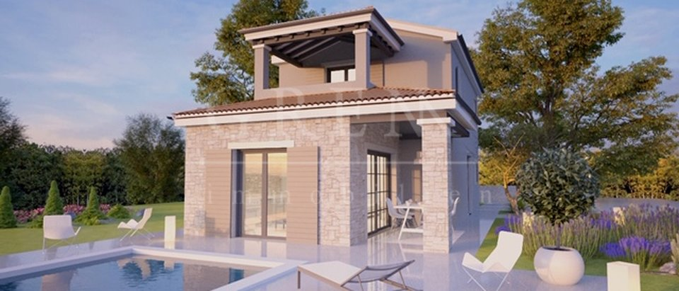 BEAUTIFUL HOUSE UNDER CONSTRUCTION 12km from Porec