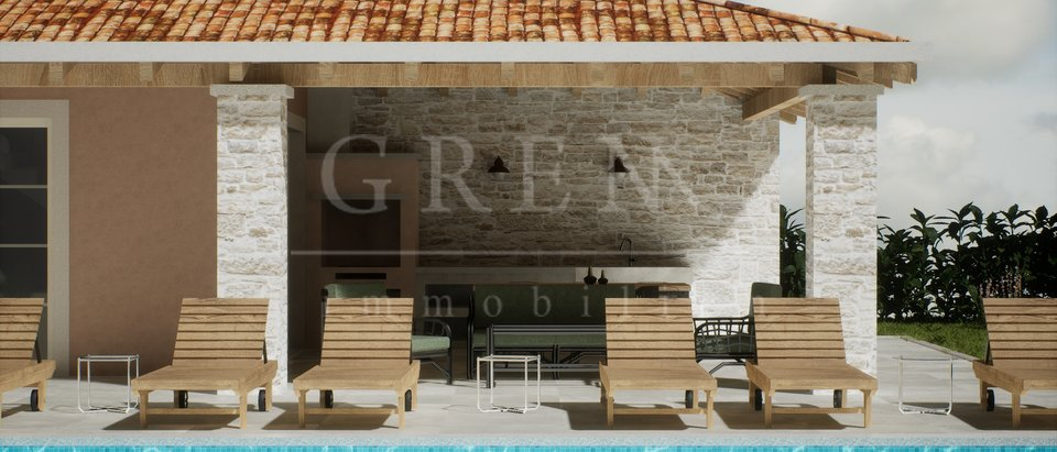 Villa under construction - Porec 6 km