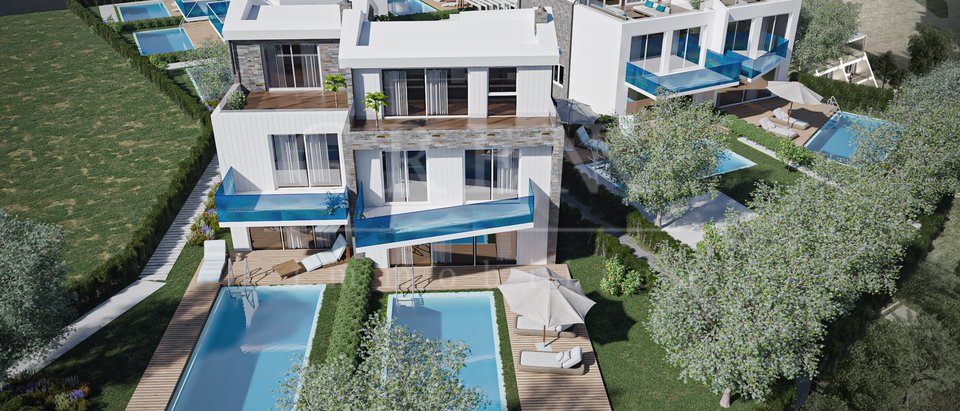 A luxury residential village 70 meters from the sea
