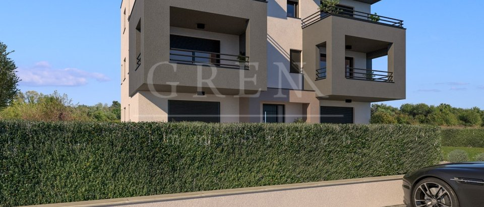 Beautiful new apartments under construction in the vicinity of Porec