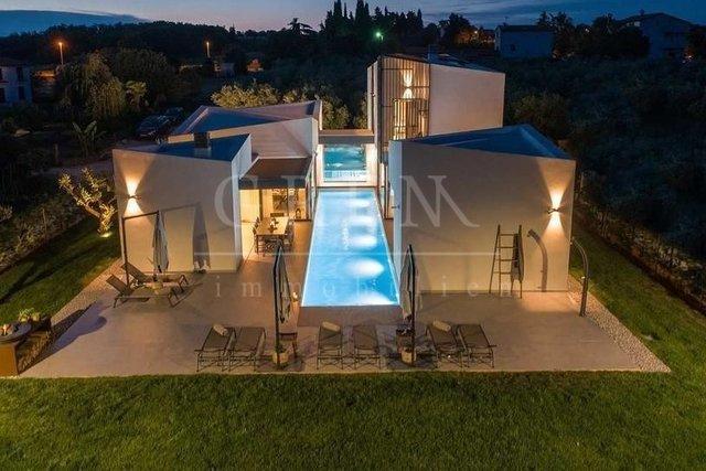 Modern designer Luxury villa with sea view