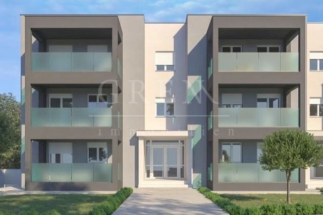 Two and three bedroom apartments in a new building with sea view