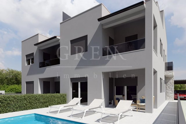 NEW! MODERN DUPLEX HOUSE WITH POOL, SEA VIEW