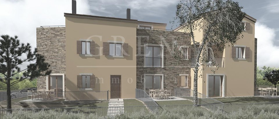 New beautiful apartments under construction in Poreč